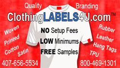 CLOTHING LABELS 4U. COM
